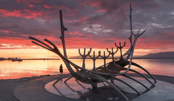 The Sun Voyager (Sólfar) is a sculpture by Jón Gunnar Árnason.