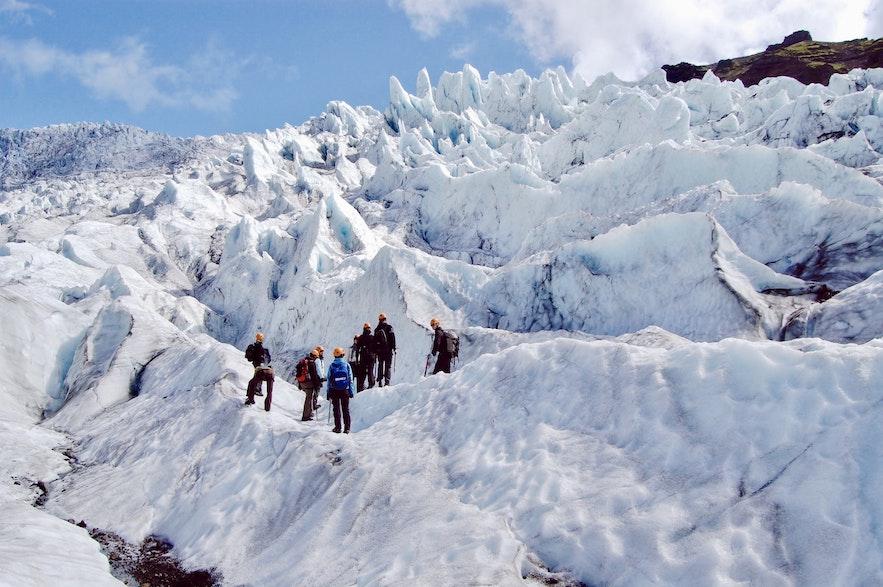 冰島冰川健行