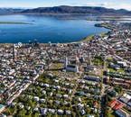 See Reykjavík from above by going on a helicopter tour in Iceland