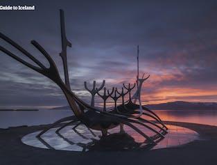 Le Sun Voyager est l'un des monuments les plus reconnaissables de Reykjavik.