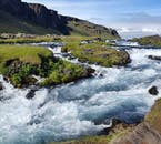 Iceland's volcanic landscapes are lined with whispering streams of fresh water.