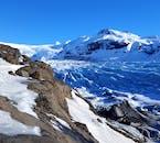 Icebergs break off from  Breiðamerkurjökull, an outlet glacier, Jökulsárlón.