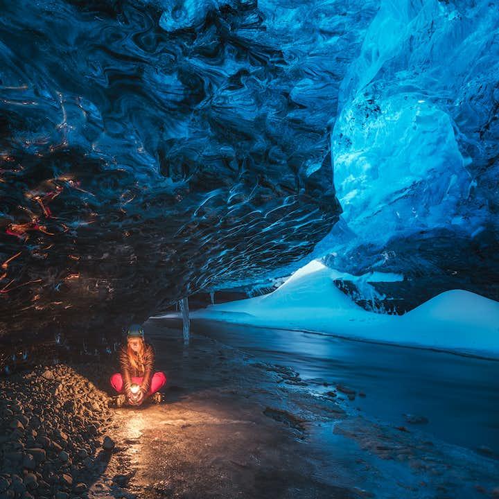 5-dages vinterpakke | Den Gyldne Cirkel, isgrotte, nordlys og Den Blå Lagune