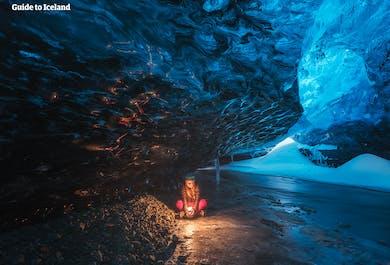 Paquete de 5 días en invierno | Círculo Dorado, Cuevas de Hielo, Auroras Boreales y la Laguna Azul