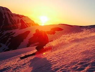 現地発|北アイスランドのスキー・スノーボード体験