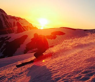 現地発 北アイスランドのスキー・スノーボード体験