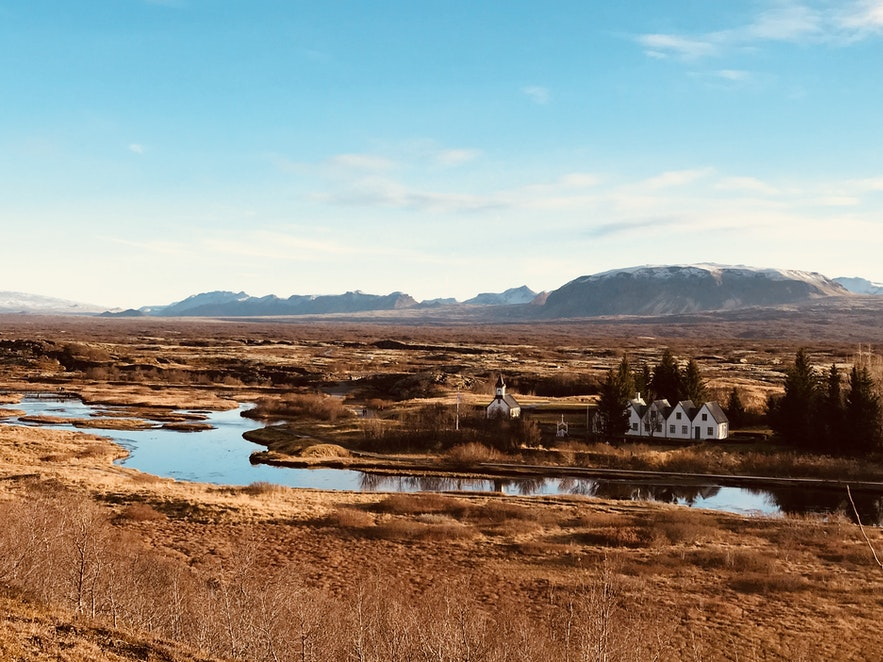 冰島金圈議會平原