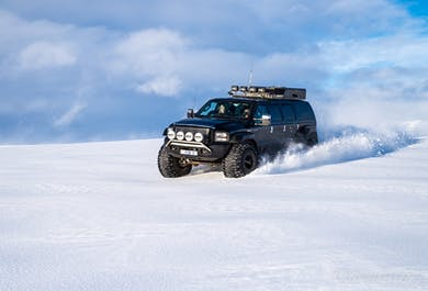 Golden Circle & Langjokull Glacier Sightseeing   Super Jeep Day Tour