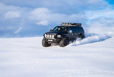 Golden Circle & Langjokull Glacier Sightseeing | Super Jeep Day Tour