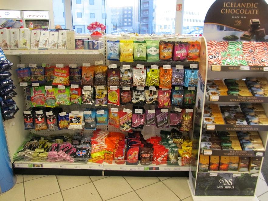 アイスランドのお菓子とチョコレート