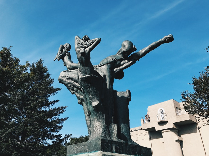 冰島雷克雅未克雕塑公園