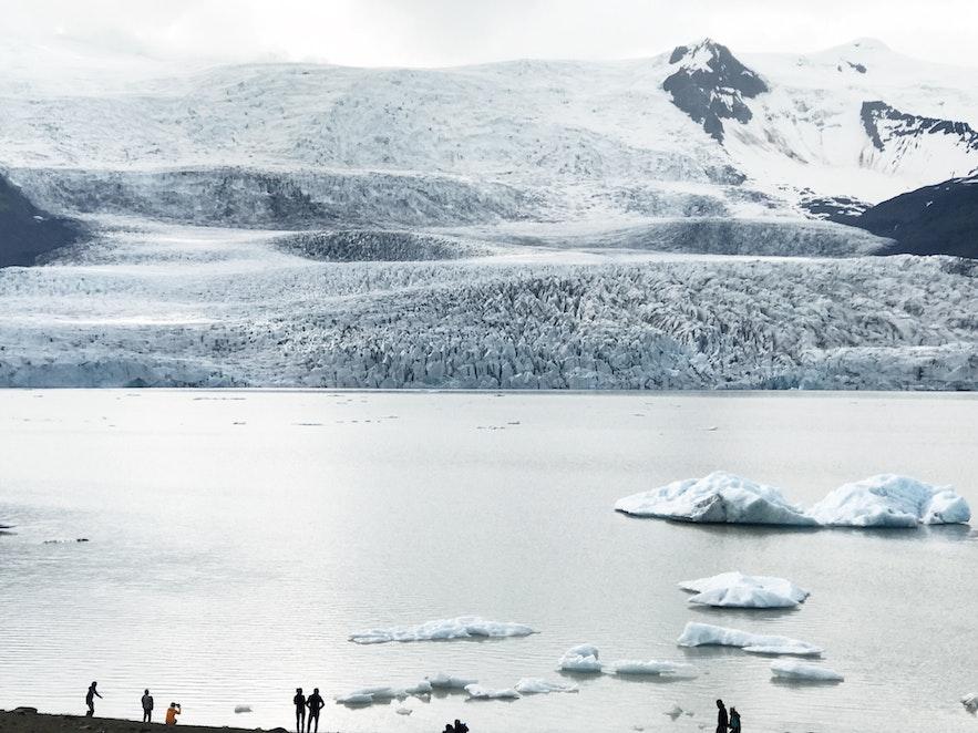 冰島 Fjallsarlon