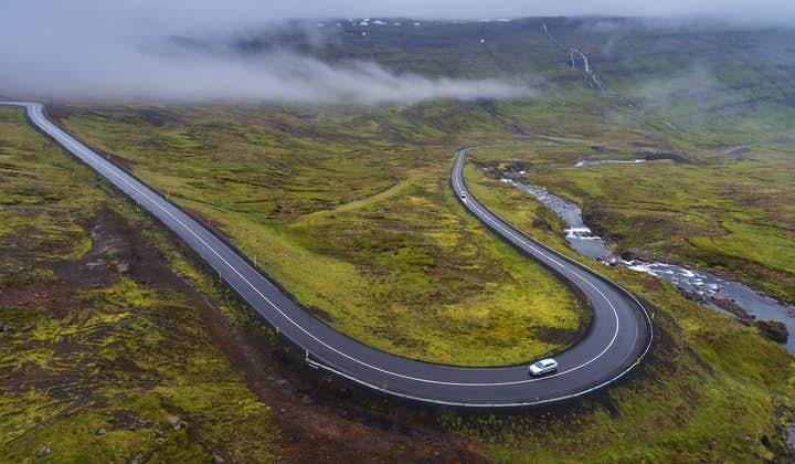 10-dniowa samodzielna wycieczka po całej obwodnicy Islandii z najważniejszymi atrakcjami i Snaefellsnes