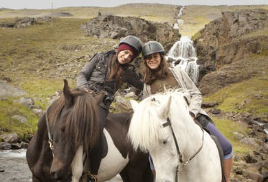 Balade à cheval authentique   Islande de l'Est