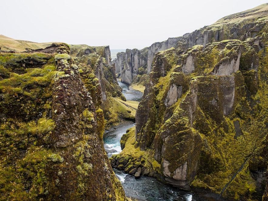 冰島Fjadrarljufur