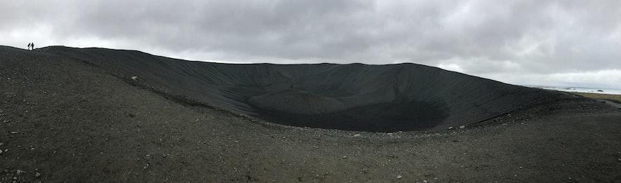 冰島Hverfjall