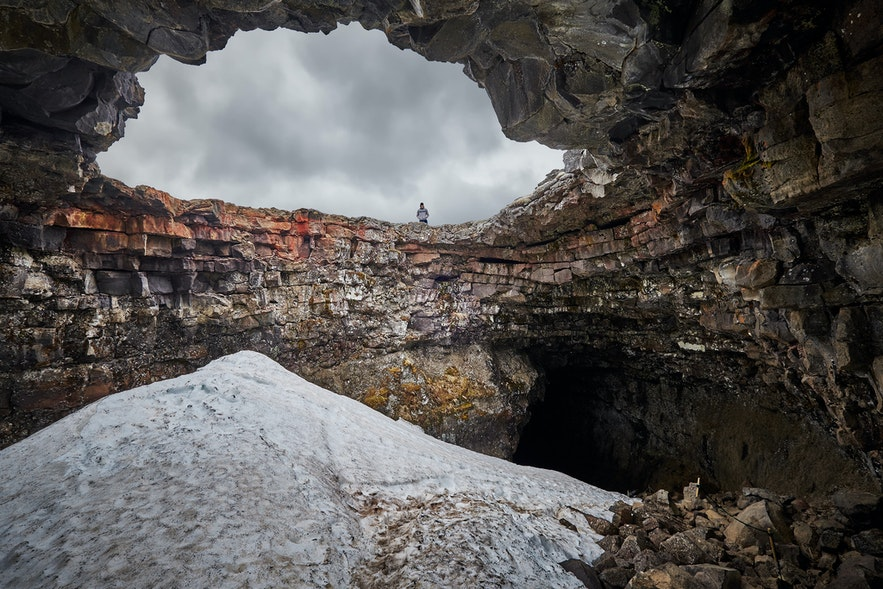 冰島 Hallmundarhraun