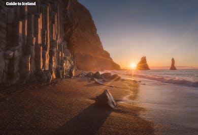Costa meridionale e Aurora Boreale | Tour con audioguida in italiano