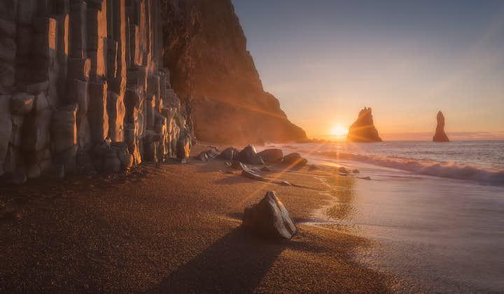 Visite de la côte sud et aurores boréales   Guide audio en français