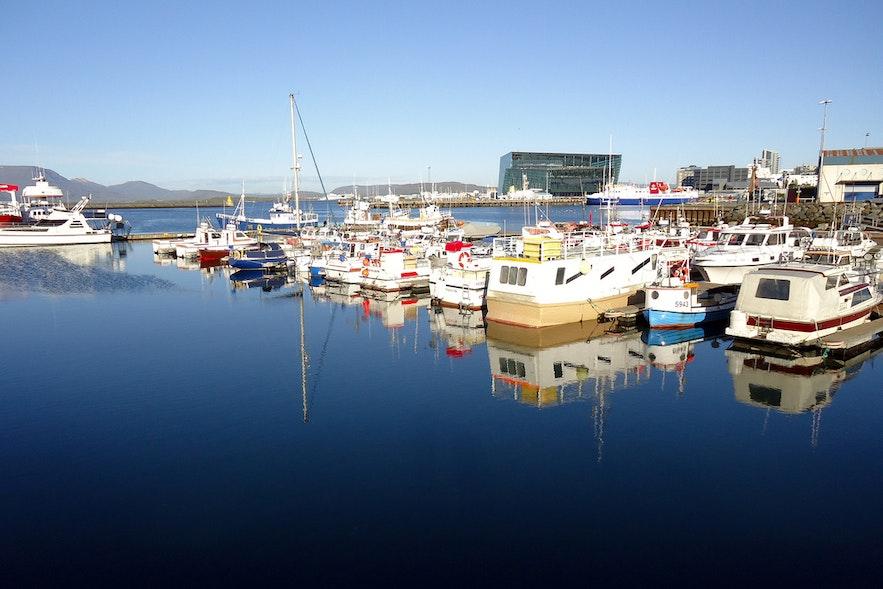 冰島雷克雅維克舊港