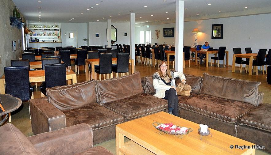Regína at At Vogur Country Lodge West-Iceland