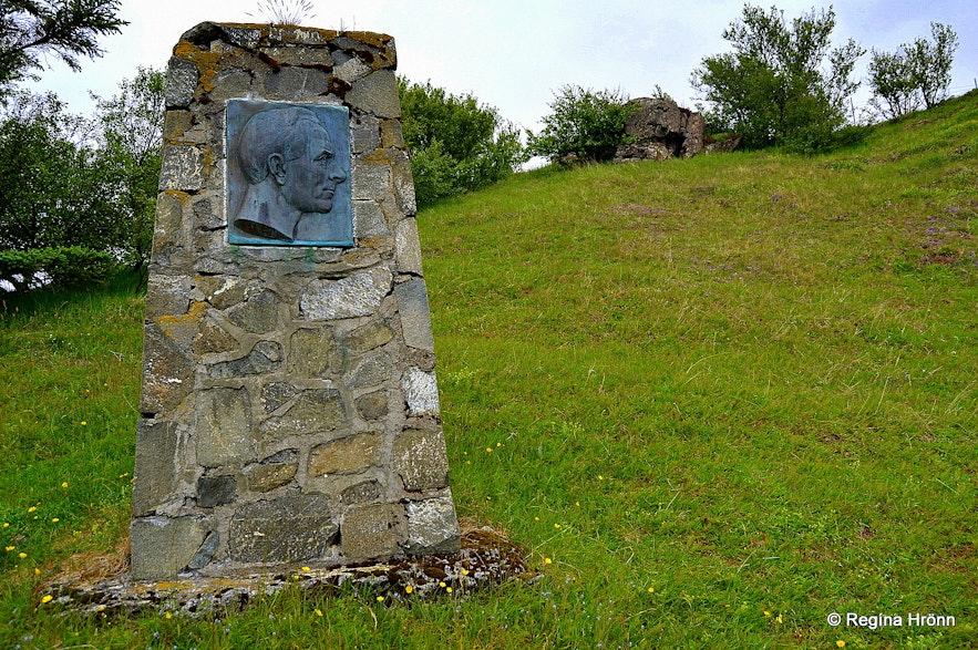 The Memorial Grove of Bjarni from Vogur West-Iceland