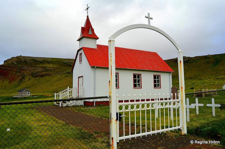 Skarðskirkja church West-Iceland