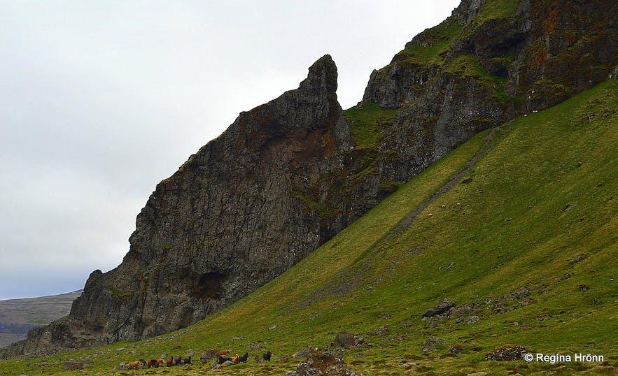 Grafardrangur Skarðsströnd West-Iceland