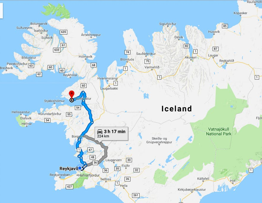 The less visited Peninsula Fellsströnd and Skarðsströnd - the Golden Saga Circle of Iceland