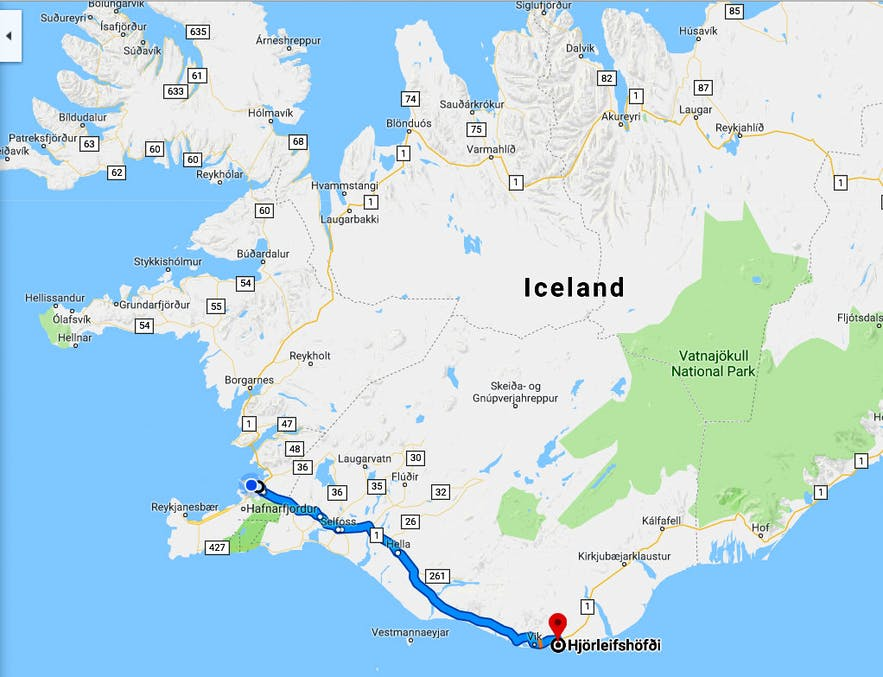 Hjörleifshöfði Promontory in South-Iceland - the Blood Brothers Ingólfur and Hjörleifur