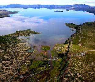 Golden Circle with a Twist | Helicopter Tour