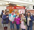 Hot Dogs are classic Reykjavík Street Food.