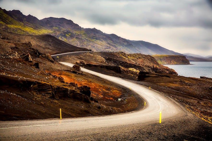 冰島夏季路面情況
