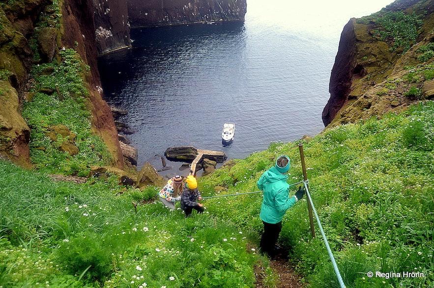 Drangey island North-Iceland