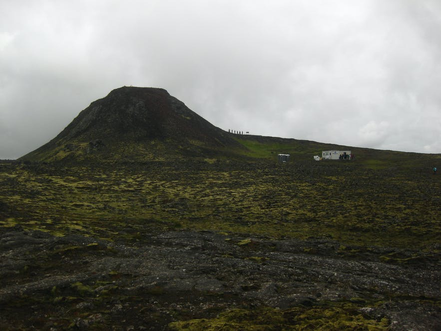 冰島 thrihnukagigur 火山