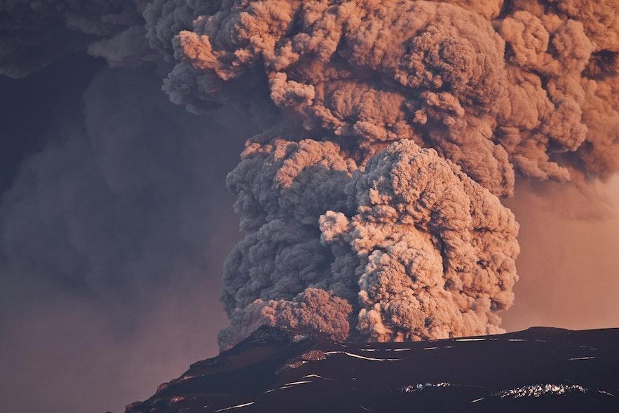 Eyjafjallajokull 火山爆發