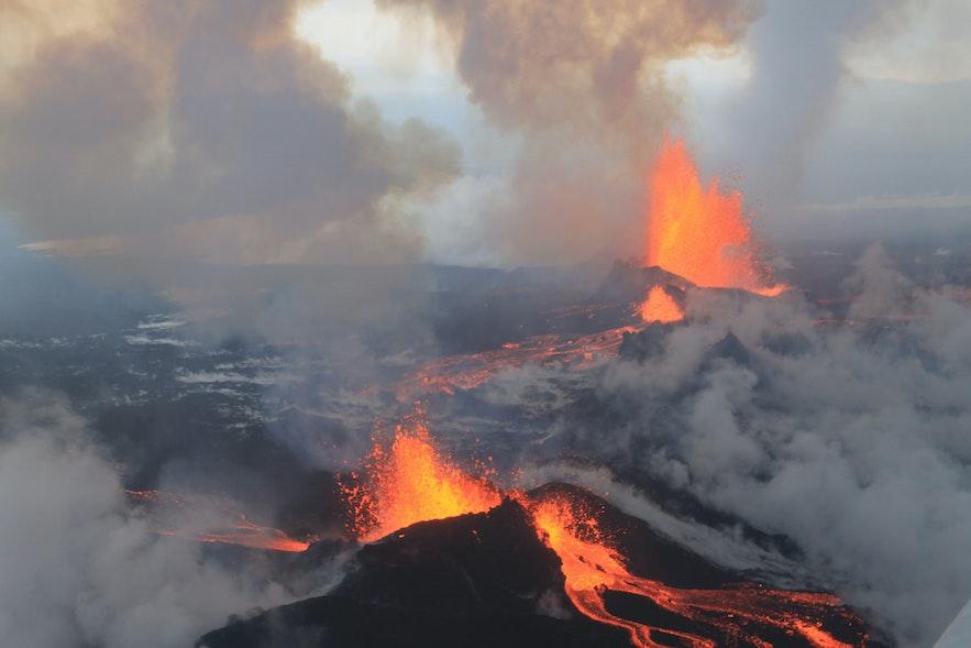 bardarbunga 火山爆發