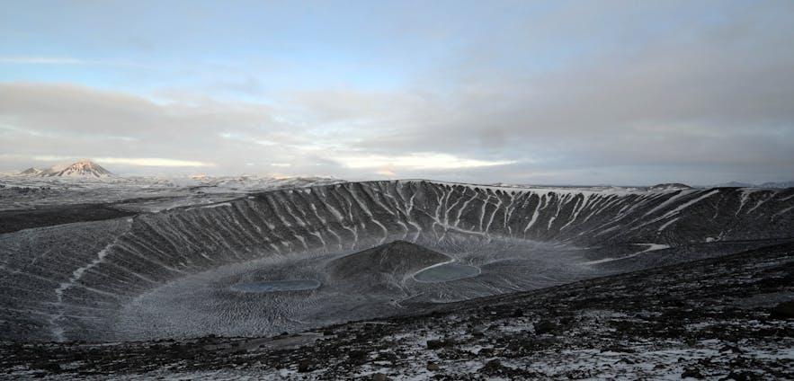 hverfjall 火山