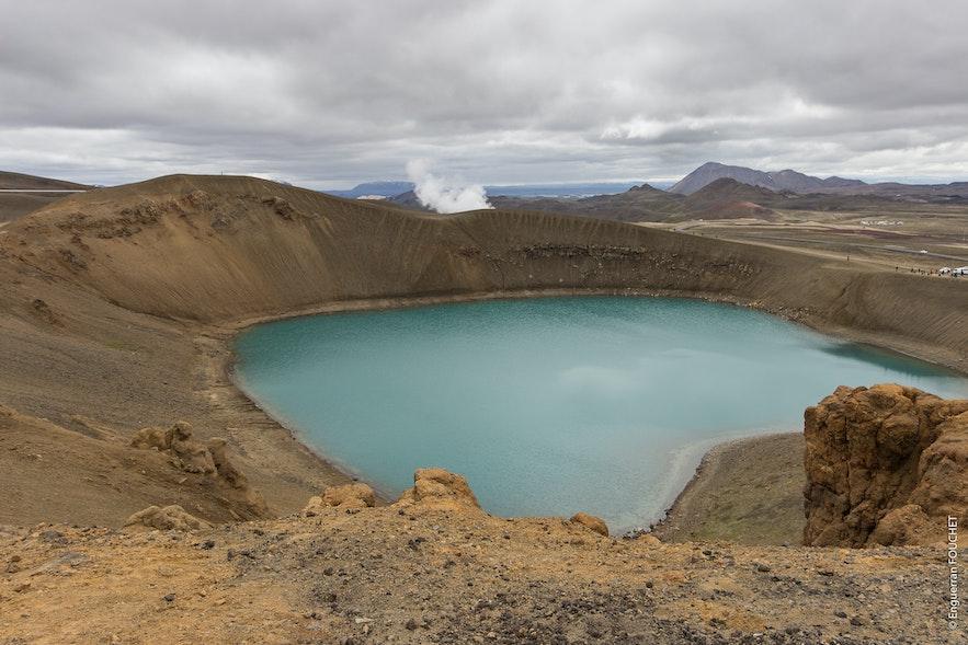 krafla 火山