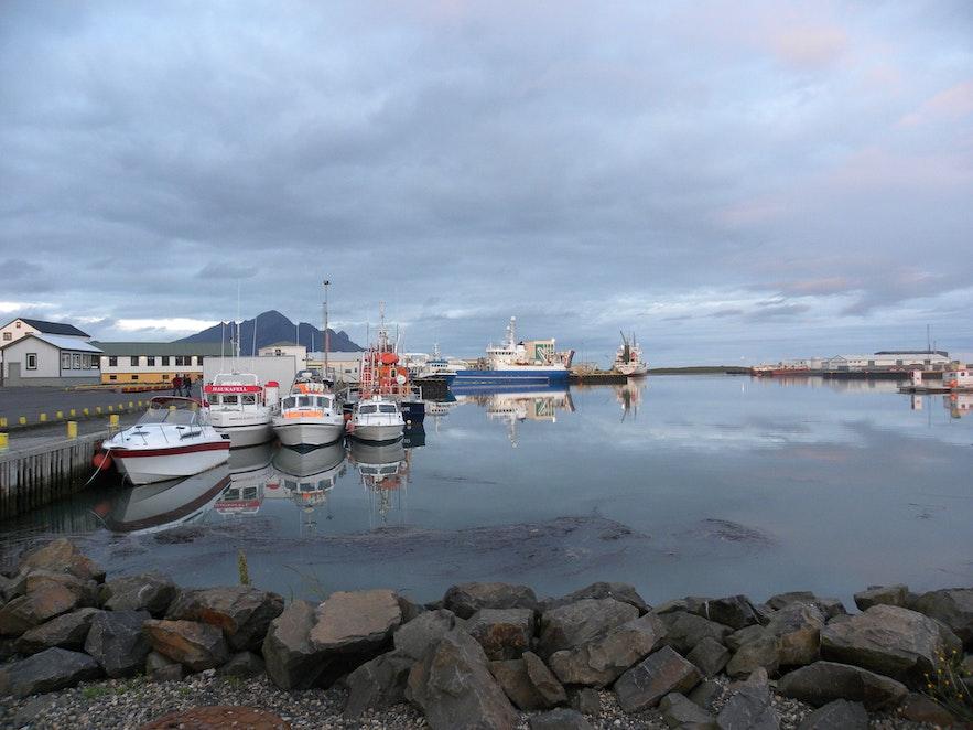 冰島Hofn 海邊