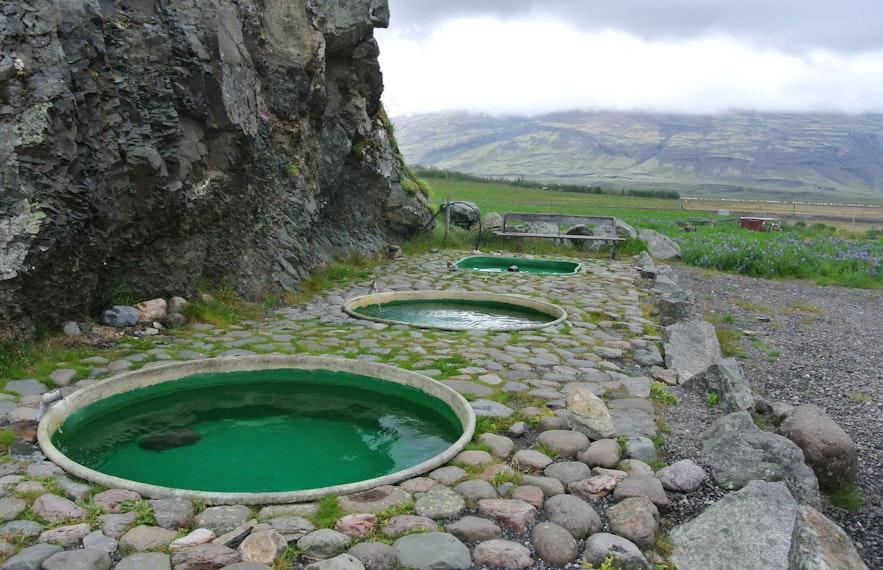 冰島Hoffell溫泉