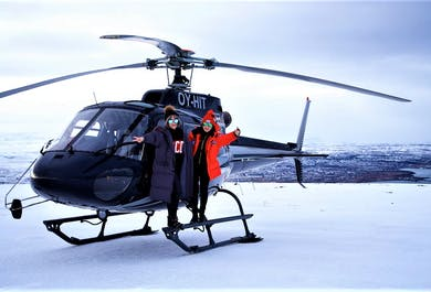 Private Reykjavik Helicopter Tour with Mountain Top Landing