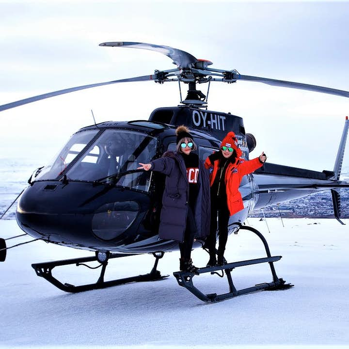 Going on a private helicopter tour over Reykjavík with a landing on Mt. Esja is the best way to witness the surroundings and scenery of Iceland's capital.