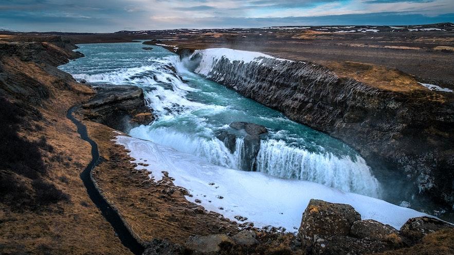 冰島黃金瀑布Gullfoss
