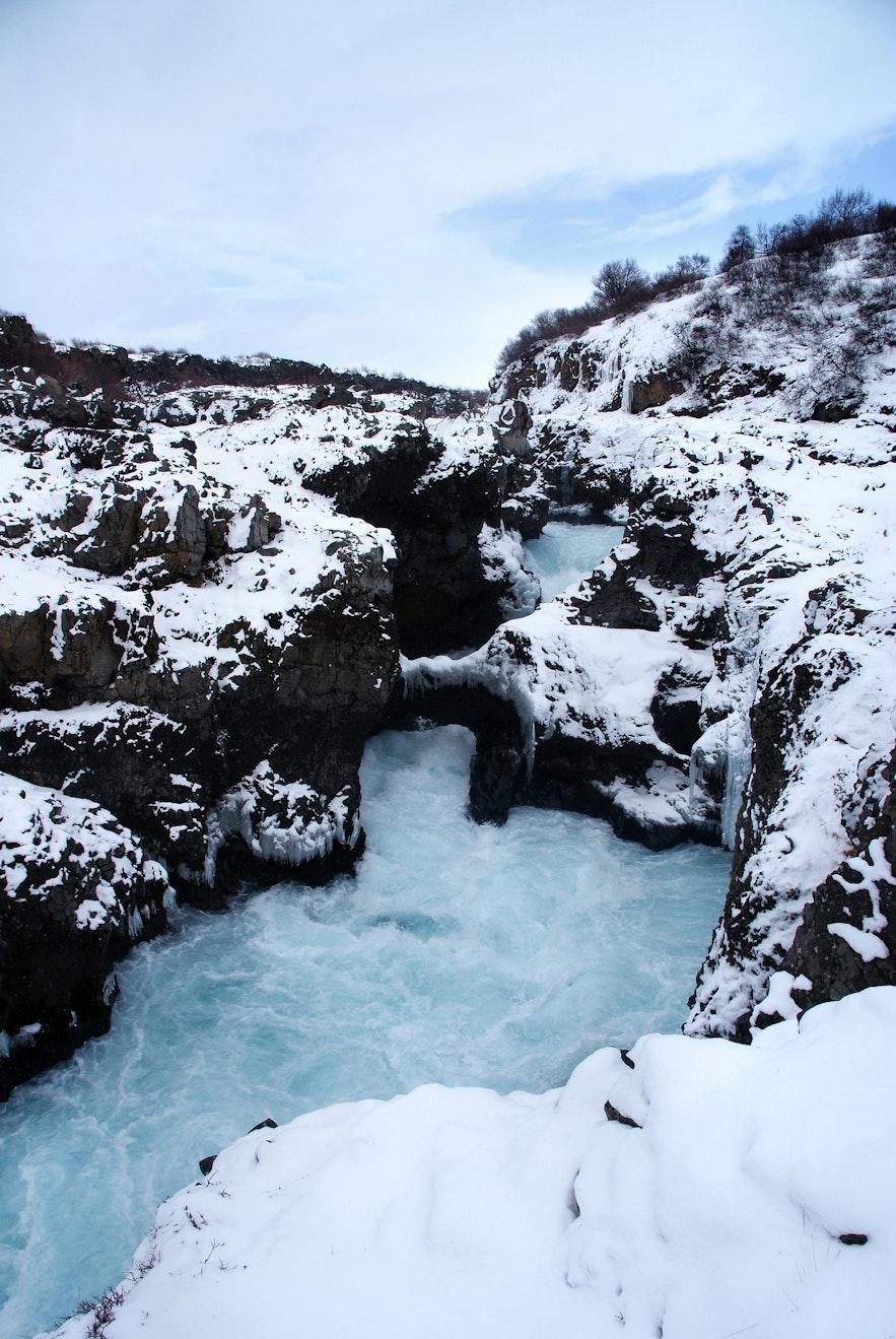 冰島兒童瀑布