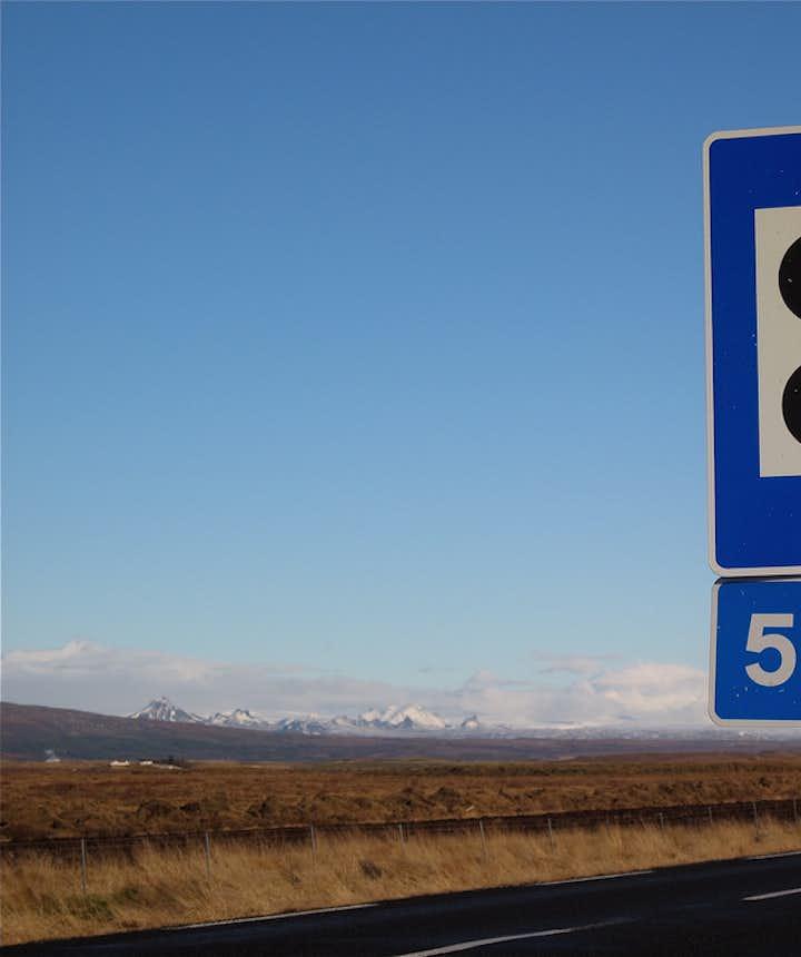 冰島交通標誌