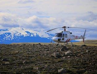 Diamond Helicopter Tour   Landmannalaugar and Eyjafjallajokull