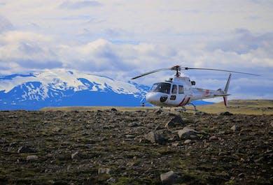 Diamond Helicopter Tour | Landmannalaugar and Eyjafjallajokull