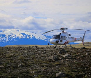 Diamond Helicopter Tour | Landmannalaugar and Eyjafjallajokull