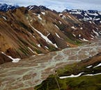 Taking pictures of Landmannalaugar from above is a surefire way to capture the wild landscapes of Iceland's Highlands.